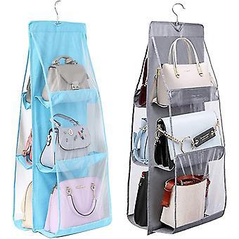 FengChun 2pcs Handtaschen Aufbewahrung Hngeregal, Speicher Handtasche Veranstalter, Handtaschen