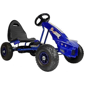Go-kart Μπλε – 115x63x59 cm – Διάμετρος τροχού 26 εκ.