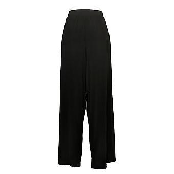 G.I.L.I. Jetsetter femenino regular pantalones cortados laterales negro A353513