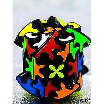 Engrenagem de engrenagem quebra-cabeça cubo rubik mágico, jogo de lógica profissional brinquedo educacional az7758