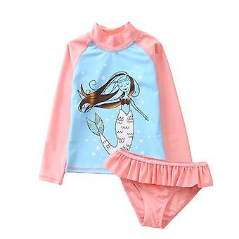 Sun Protection Rash Guard Set, Zestaw koszul kąpielowych dla dzieci