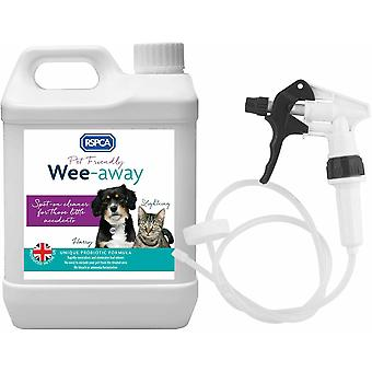 RSPCA Wee Away 2.5L Pet Friendly Stain & Odour Remover with