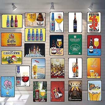 novo 20x30cm du-3642 placa de cerveja placa de lata placas de metal para wall home art retro bar loja de café vintage sm56982