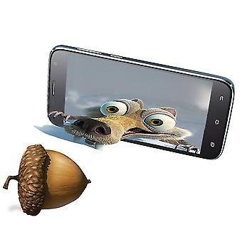5 inch Uhans Hd 4g smartphone mobiele telefoon 2450mah batterij A101 Ram 1gb Rom 8gb