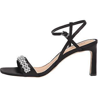 Jewel Badgley Mischka Women's Ornamented Sandal Heeled