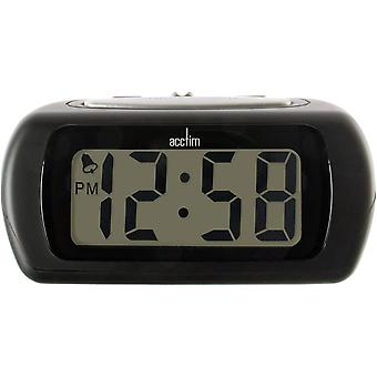 Acctim 12343 Auric Alarm Clock Black