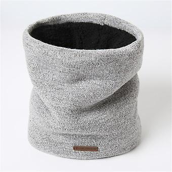 Women Knitted Scarf, Cashmere-like Lady Winter Snood Warm Wool, Fur, Thick