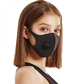 5pcs High Quality Mouth Cover Dust Masks Pm2.5 Filter With Mask Gasket