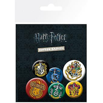 Harry Potter Wappen Badge Pack