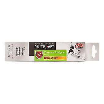 Nutri-Vet Enzymatic Toothpaste for Dogs - 2.5 oz