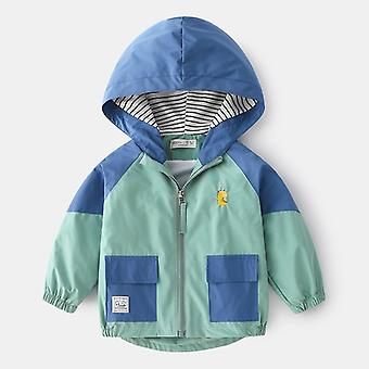 Spring Jackets, Hooded Patchwork Coats