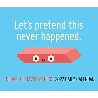 The Art of David Olenick 2022 Box Calendar Daily Puns  Humor Desktop by Created by David Olenick