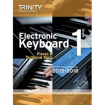 Trinity Electronic Electronic Keyboard 2015-2018. Grade 1