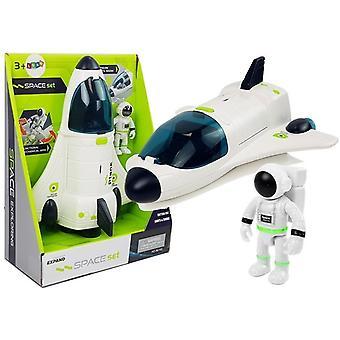 Racheta de jucărie - Cosmos - cu lumină și sunet - 25cm