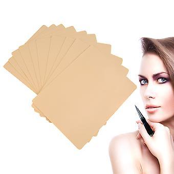 10pcs الوشم ممارسة الجلد مستحضرات التجميل ماكياج دائم الحاجب ممارسة الجلد