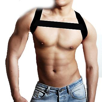 Arm Band Men's Double Shoulder Hunchback Straightener Chest Muscle Support Brace For Party