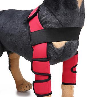 Evago Classic Style-Dog Recovery Sleeve, Haustier Hund Vorderer Ellenbogenschutz Unterstützung Für Arthritis, Rehabilitation, schlechte Stabilität, Gelenkverletzungen Verletzen