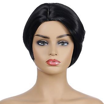 פיאות קניון מותג, תחרה פאות, שיער קצר מציאותי שיער ישר