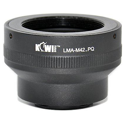 Kiwifotos Lens Mount Adapter: Allows M42 Screw Mount Lenses (Pentax, Praktica, Mamiya, Zeiss and Zenit) to be used on the Pentax Q, Q10