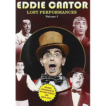Eddie Cantor: The Lost Performances 1 [DVD] USA import