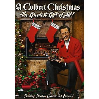 Colbert Christmas: The Greatest Gift of All [DVD] USA import