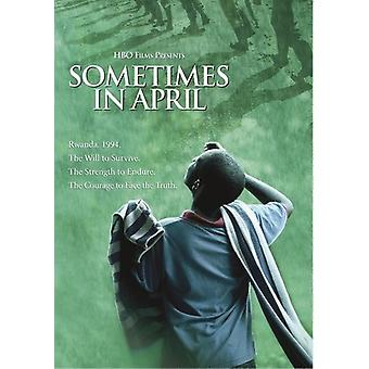 Sometimes in April [DVD] USA import
