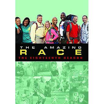 Amazing Race: Season 18 [DVD] USA import