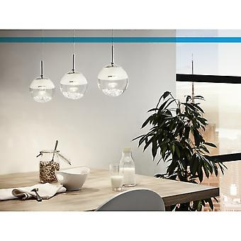 EGLO Montefio 3 Crystal vatten skål tak hänge