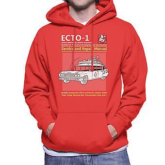 Ghostbusters Ecto1 Service And Repair Manual Men's Hooded Sweatshirt