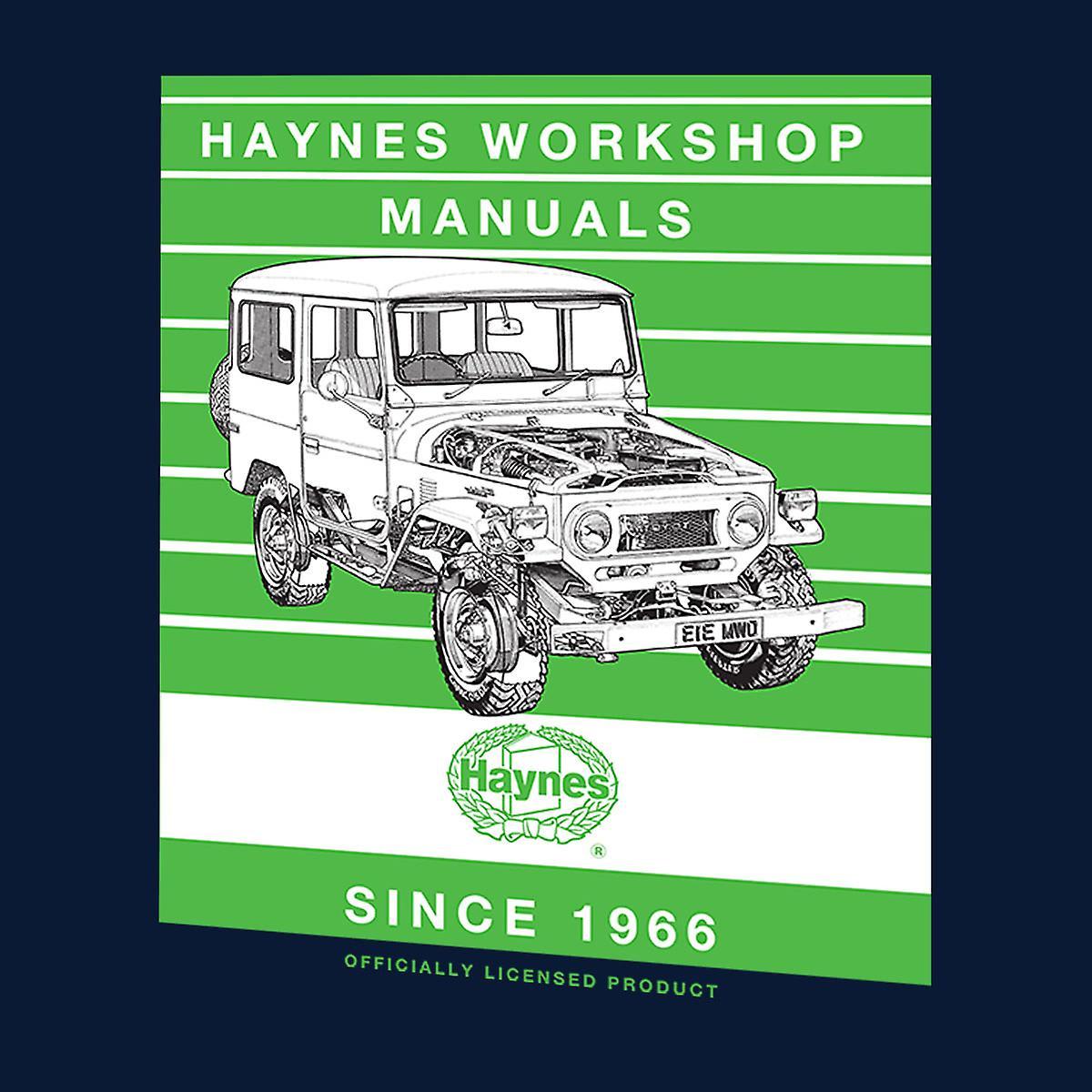 Haynes Workshop manuell 0313 Toyota Landcruiser Stripe menn Vest