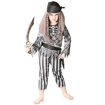 Bambini costumi Costume pirata fantasma per ragazzi