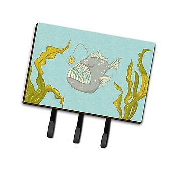 Carolines Schätze BB8541TH68 Frosch Fisch Leine oder Schlüsselhalter