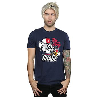 Tom And Jerry Men's Cat & Mouse Chase T-Shirt
