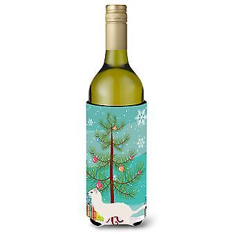 Stoat Short-tailed Weasel Christmas Wine Bottle Beverge Insulator Hugger
