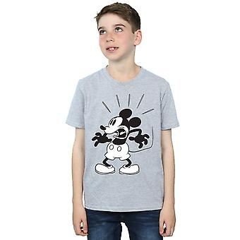 Disney Boys Mickey Mouse Scared T-Shirt