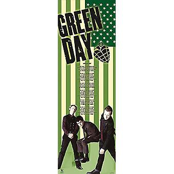 Green Day- Door Poster Print