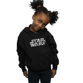 Star Wars jenter dekorativ Logo Hettegenser