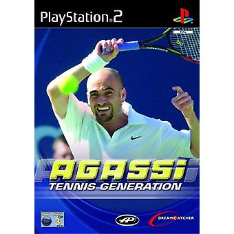 Agassi Tennis Generation (PS2) - New Factory Sealed