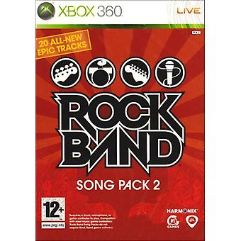 Rock band Song Pack 2 (Xbox 360)-fabriks forseglet