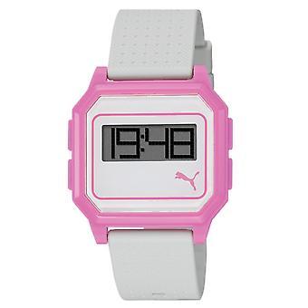 PUMA horloge armband horloge Dames platte scherm wit roze PU910951006