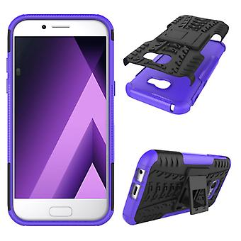 Pedazo de caso 2 híbrido púrpura al aire libre SWL para Samsung Galaxy A5 2017 A520F