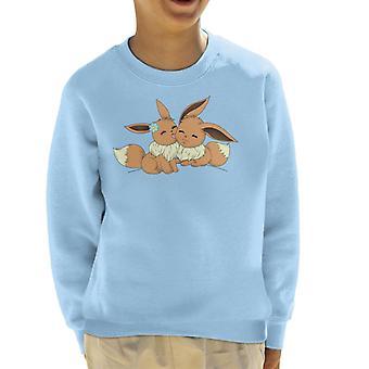 Eevee kärlek Pokemon Kids tröja