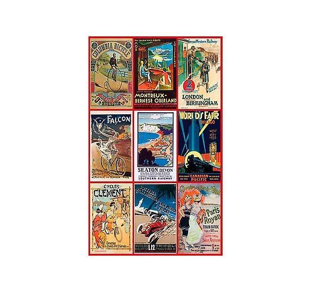 Piatnik Vintage Posters Transport Jigsaw Puzzle (1000 Pieces)