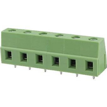 Degson DG128-7.5-03P-14-00AH-1 Schroefklem 3,31 mm² Aantal pinnen 3 Groen 1 st(en)