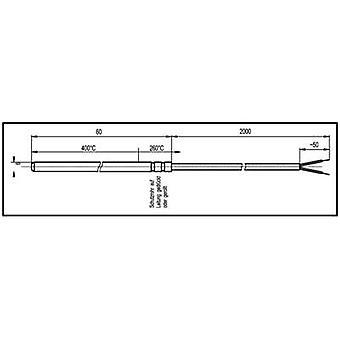 Enda Heating element Sensor type J Temperature reading range-50 up to 600 °C Cable length 2 m Sensor diameter 6 mm