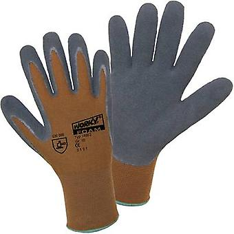 L+D worky Nylon Latex FOAM 14902 Nylon Protective glove Size (gloves): 9, L EN 388 CAT II 1 Pair