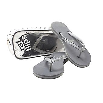YogaRat RatFlips Damen Flip Flops - Charcoal/Ash