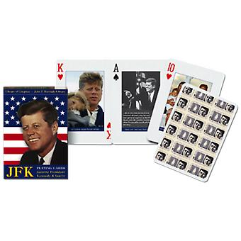 Jfk Set Of 52 (+ Jokers) Playing Cards