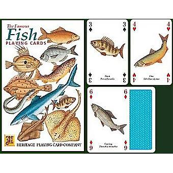 魚は、52 のトランプ (+ ジョーカー) の設定