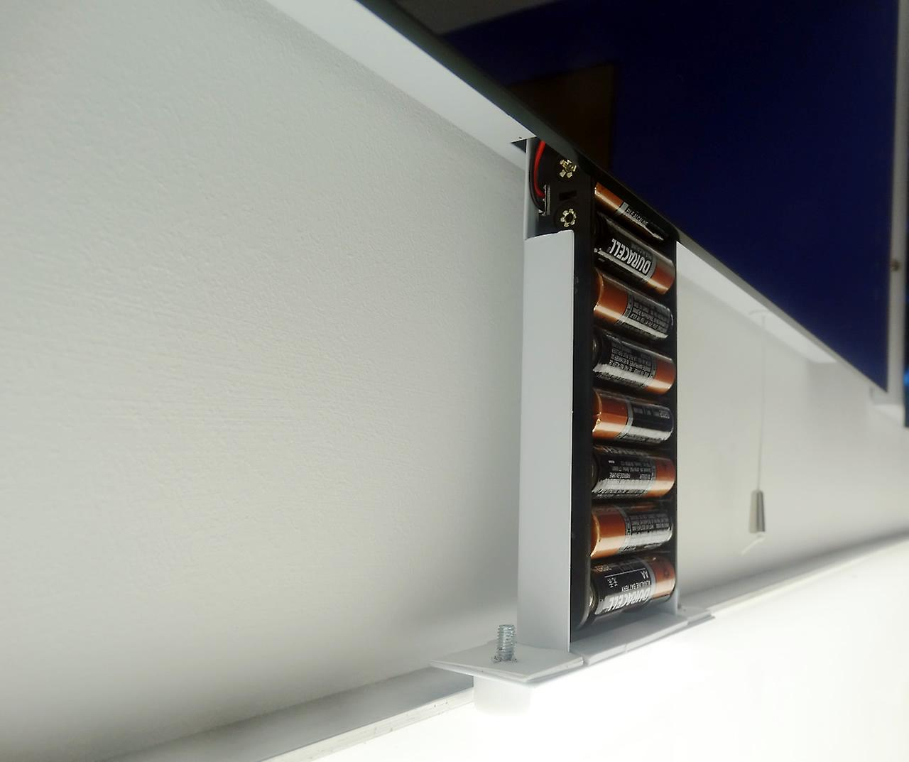 Diamond Battery LED Bathroom Mirror With Pull Cord k1
